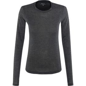 Craft Urban Run LS Wool Shirt Damen black melange